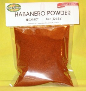 Texan Habanero Powder | Hatch Valley Chile Peppers